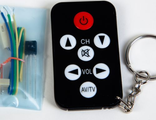 Wireless receiver module and IR Remote are now in stock!